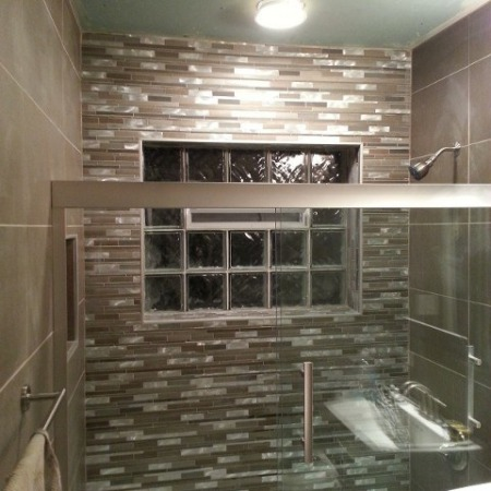 Bathroom renovation by foundation leaks and foundation crack repair company in Chicago