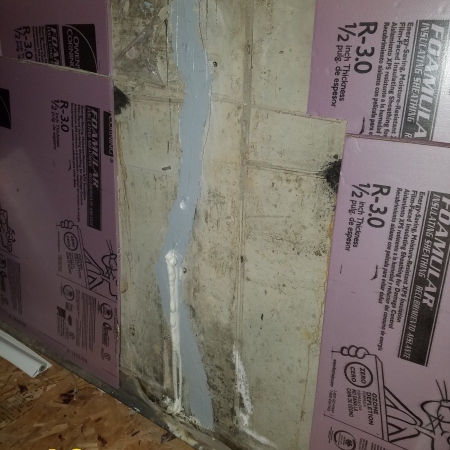 basement wall crack and foundation repair in Chicago